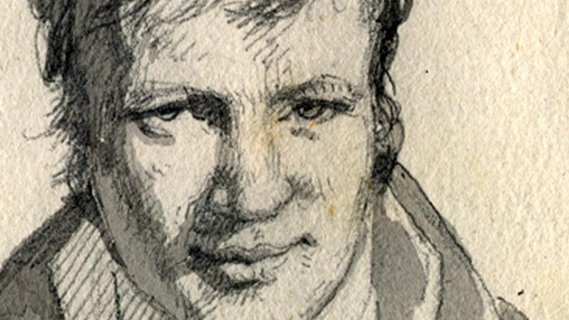 Alexander von Humboldt, Zeichnung: Frédéric Christophe de Houdetot , CC0