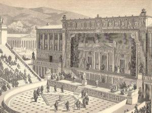 Das Dionysostheater in Athen