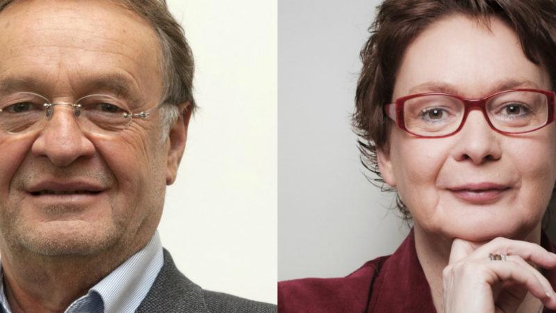 Josef König und Daniela Behrens im Porträg