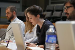 "Das Europäische Schülerparlament findet 2018 bereits zum dritten Mal im Rahmen der ESOF statt. Foto: <a href=""https://www.wissenschaft-im-dialog.de/projekte/europaeische-schuelerparlamente/"" target=""_blank"">Europäische Schülerparlamente, WiD</a>"