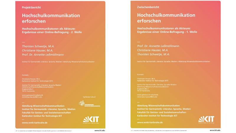 """Das Projekt Hochschulkommunikation erforschen ist eine Erhebung unter Hochschulkommunikatorinnen und -kommunikatoren von Annette Leßmöllmann, Stefan Böschen, Christiane Hauser und Thorsten Schwetje. Durchgeführt wird es am Karlsruher Institut für Technologie (KIT) und der RWTH Aachen. Die Online-Befragung, die 2016/2017 stattfand, wurde vom Bundesverband Hochschulkommunikation gefördert. Die aktuelle Interviewstudie ist von der <i>VolkswagenStiftung</i> finanziert. <a href=""""http://www.geistsoz.kit.edu/germanistik/downloads/Zwischenbericht%20Hochschulkommunikation%20erforschen%201.%20Welle%20Le%C3%9Fm%C3%B6llmann%20Hauser%20Schwetje.pdf"""" target=""""_blank"""" rel=""""noopener"""">Zwischenbericht als PDF zum Download</a>,<a href=""""http://www.geistsoz.kit.edu/germanistik/downloads/Projektbericht-Hochschulkommunikation-erforschen-2.Welle-Schwetje-Hauser-Lessmoellmann.pdf"""" target=""""_blank"""" rel=""""noopener"""">Projektbericht als PDF zum Download</a>"""