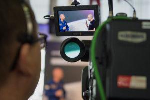 Das Kommunikationsteam der ESA arbeitet für die Kommunikation der Missionen eng mit den Astronauten zusammen. Foto: ESA