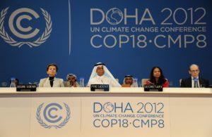 Die UN-Klimakonferenz 2012 in Doha (Katar).