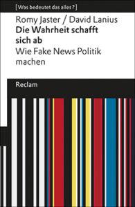 """Buchcover """"Die Wahrheit schafft sich ab"""""""