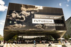 Fassade des Futuriums