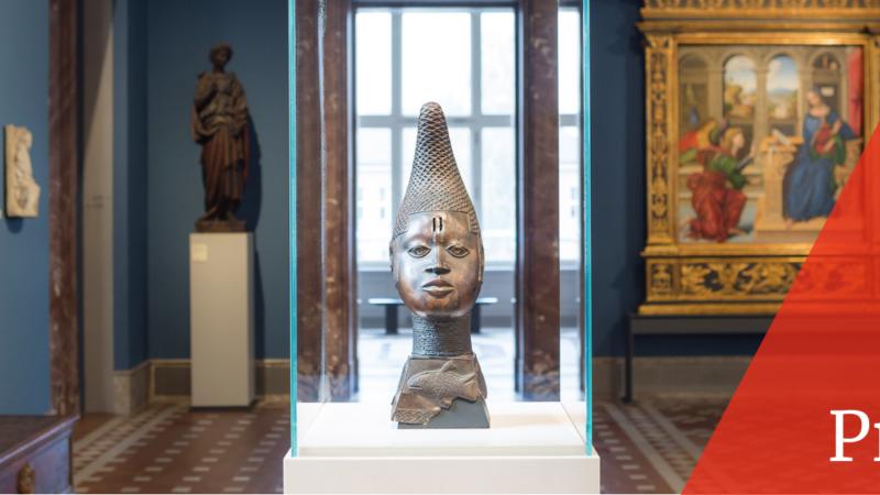 """Ansicht der Ausstellung """"Unvergleichlich: Kunst aus Afrika im Bode-Museum"""", Museumsinsel Berlin"""