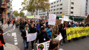 "Demonstration ""No science – no future"" am 30.10.2019 in Mannheim"