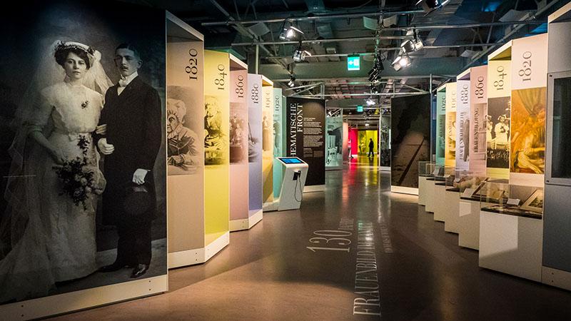 """Ausstellung """"Ada Lovelace"""" für das Heinz Nixdorf MuseumsForum. Foto: Michael Feser/Archimedes Exhibitions"""